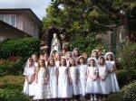 Zdjęcia grupowe - pierwsza komunia święta